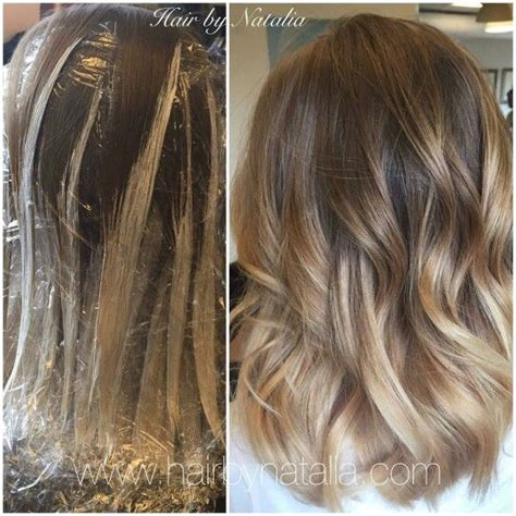 how to balayage on medium length hair how to balayage hair glad rags other girly stuff
