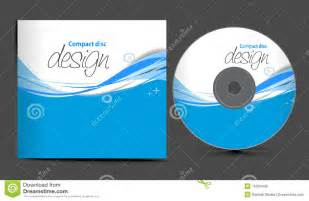 cd cover design stock vector image of design isolated