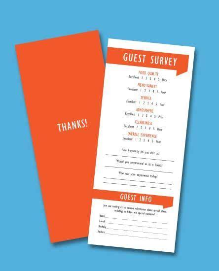 feedback card template restaurant customer feedback cards work