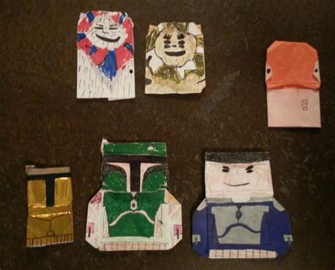 Origami Admiral Ackbar - origami army origami yoda