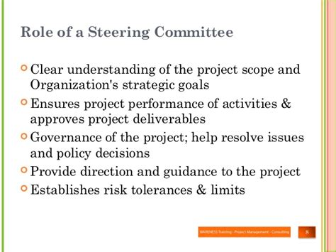 What Is The Risk In Steering Committee Steering Committee Presentation Exle