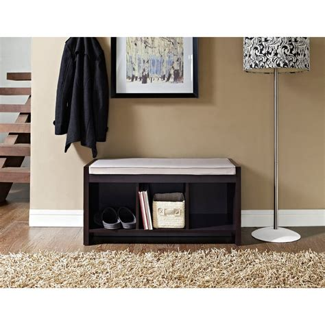 Entry Chair With Storage Entry Bench With Storage Decofurnish