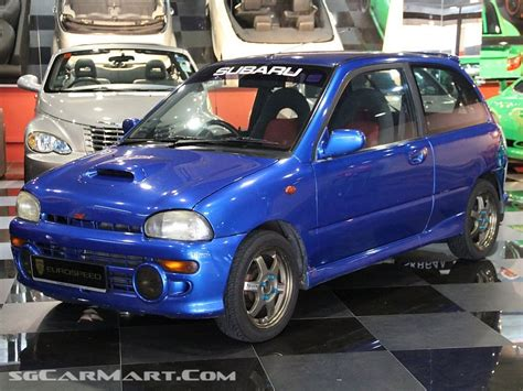 subaru vivio rxr 1994 subaru vivio related infomation specifications