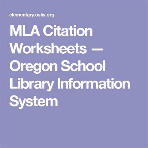 Oregon State Mba Information Systems by 57 Best Bibliography Citing Sources Images On