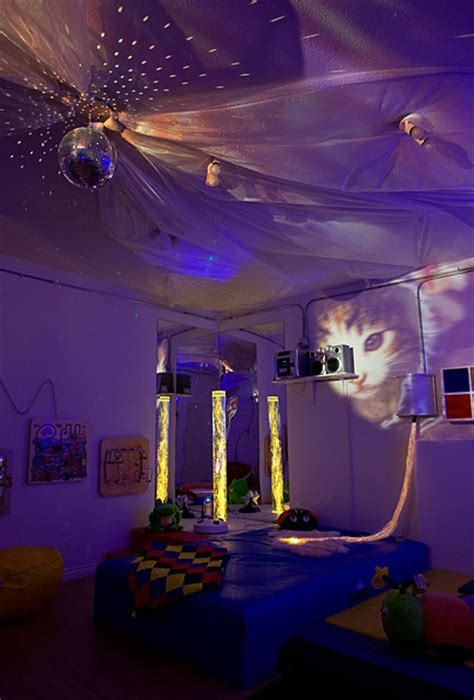 bedroom disco ball my dream therapy area a snoezelen room with a disco ball
