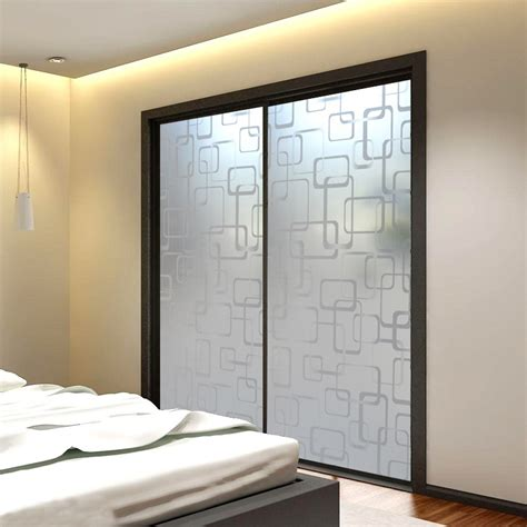 glass bedroom doors the details of frosted glass doors med art home design