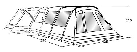 outwell montana 6 front awning outwell montana 6 front awning