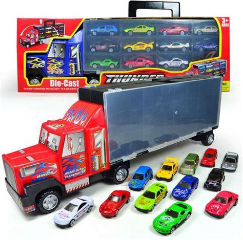 Car Organizer Model Jaring Best Seller container truck model car trailer large storage box