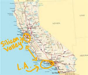 map of valley in california what it s like to live in california the wherever writer