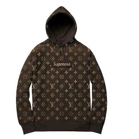 Louis Vuttion X Supreme Bogo Hoodie supreme x louis vuitton jpg supremexlo326f jpg liked on