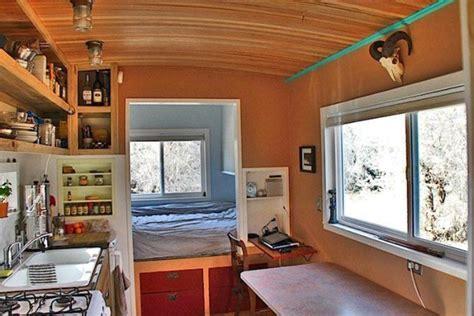 single level tiny house man builds 200 sq ft solar off grid tiny house