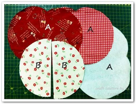 pattern for fabric apple craft couture by t c 2 in 1 easy peasy apple mug rug