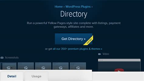 wp template directory business directory plugins top 10
