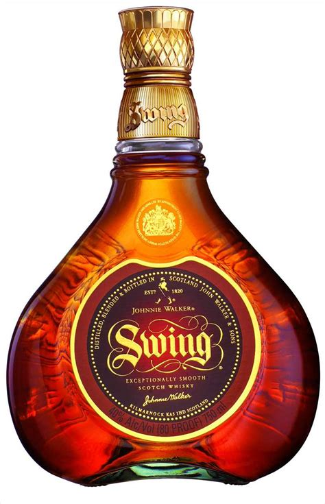 johnnie walker swing liquor johnnie walker swing 12x75cl