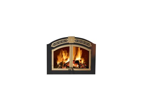Nz6000 Fireplace by Napoleon H335 G Gold Plated Arched Doors For