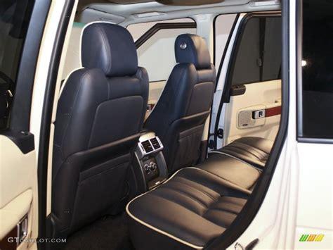 blue range rover interior navy blue parchment interior 2011 land rover range rover