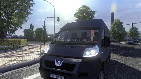 standalone peugeot boxer van ai car euro truck simulator  mods