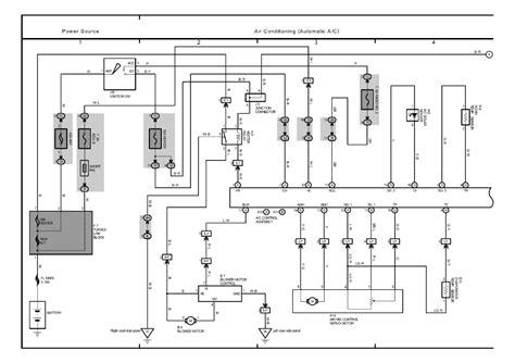 toyota ipsum wiring diagram toyota automotive wiring