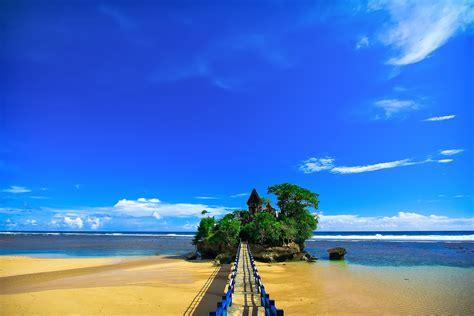 balekambang beach beautiful destination  east java