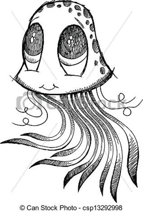 doodle medusa vetor medusa esbo 231 o doodle vetorial arte estoque