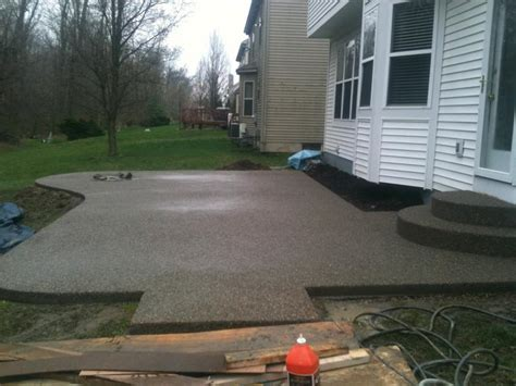 Landscape Architect Medford Oregon Exposed Aggregate Patio Blocks Modern Patio Outdoor