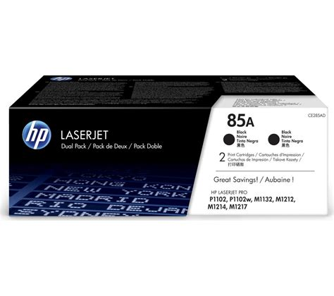 Toner Laserjet 85a hp hp 85a original laserjet black toner cartridge