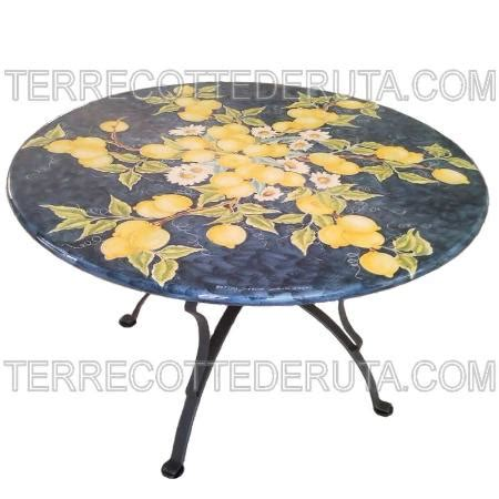 tavoli deruta tavolo deruta foto di ceramiche terrecotte deruta