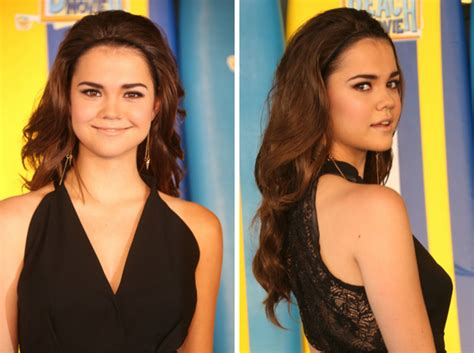 why does mia mitchell have a scar on her forehead celeb hairstyle of the week maia mitchell
