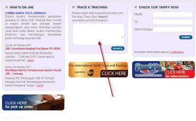 Info Pengiriman Terlambat Dan Info Paket Jne Tiki Wahana Go Kilat aespesoft products cek pengiriman paket di web tiki jne pos indonesia