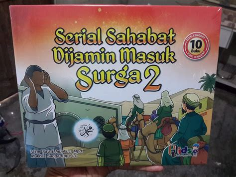 Buku Anak Islam Boardbook Seri Sahabat Rasulullah buku anak serial sahabat dijamin masuk surga seri 2 toko muslim title