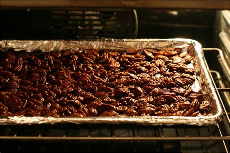 Oven Baked Nuts olive this recipe maple balsamic glazed roasted pecans