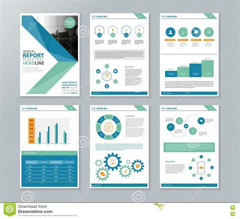 report layout design exles company profile annual report brochure flyer page
