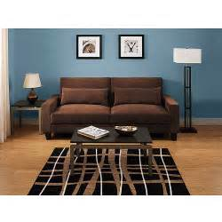 hometrends banquette convertible futon sofa bed