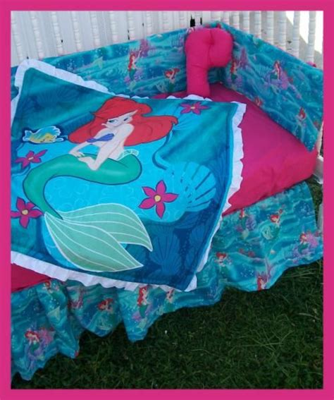 The Little Mermaid Crib Bedding Set Kali Room Idea Mermaid Bedding Set
