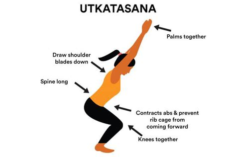 Orange Chair by How To Do Utkatasana Chair Pose In 7 Steps Amp Its