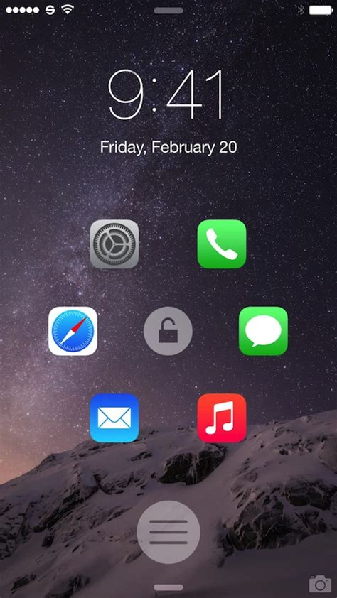 atom the awesome lock screen launcher is now available for ios 8