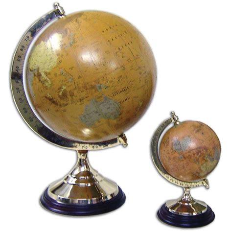 mappamondo da tavolo mappamondo da tavolo su base in ottone e legno