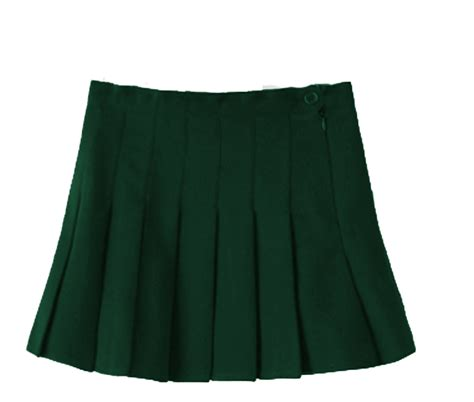 Buttoned Plaid Skirt skirt buttoned hockey school p e pleated