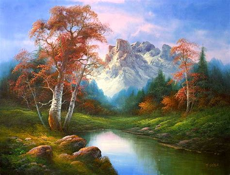 painting free classic landscape of i cafieri paintings