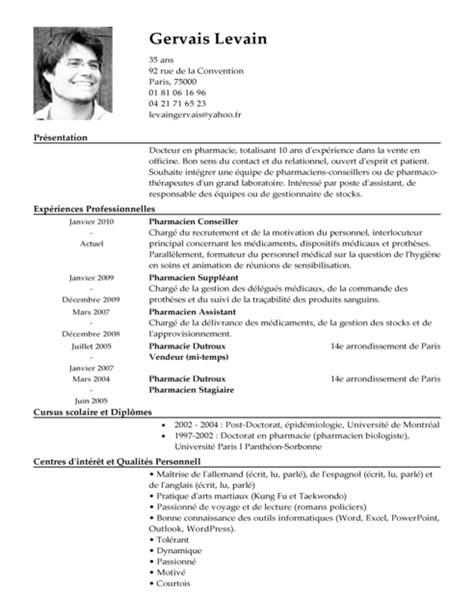 écrire Un Cv Exemple by Exemples De Cv Mod 232 Les De Cv Exemples Cv Gratuit