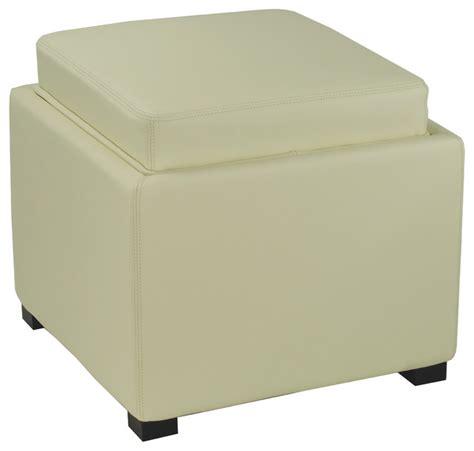 contemporary storage ottoman safavieh bobbi tray storage ottoman x a6004duh