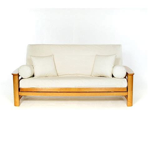 futon cover full size natural full size futon cover 12936347 overstock com