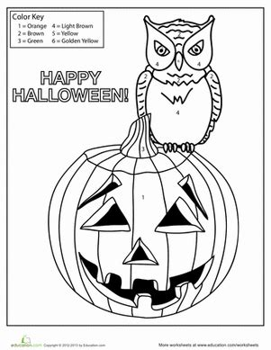 halloween coloring pages 1st grade halloween pumpkin coloring page worksheet education com