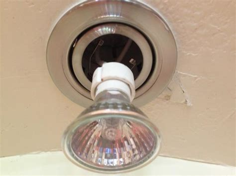 How To Change Ceiling Light Fixture Replace A Gu10 Light Bulb Doityourself Community Forums