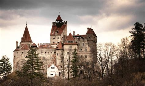 home of dracula castle in transylvania count dracula s medieval mountain top fortress not for