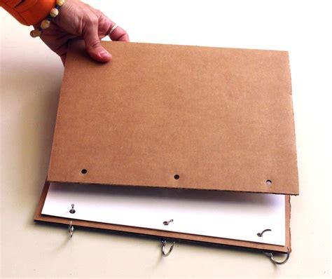 sketchbook binding tutorial inexpensive sketchbook binding solutions binder clip