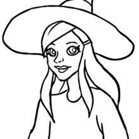 mean witch coloring page witches prepares magic mixture coloring pages hellokids com