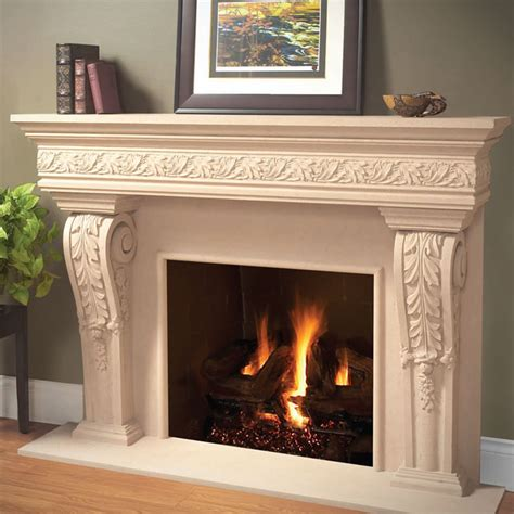 Cast Fireplace Mantels And Surrounds by Cast Fireplace Mantels Home With Cast