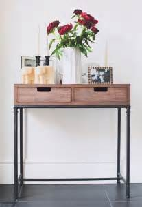 Small Entrance Table 58 Best Narrow Console Table Images On