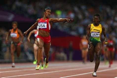 london 2012 news top stories videos photos olympicorg usa breaks 4x100m world record but lose their crown in